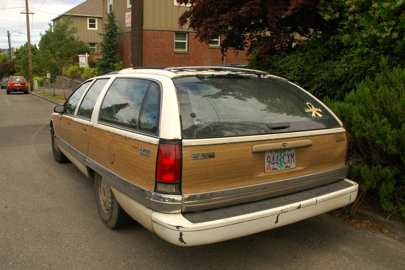 Old Parked Cars Battle Of The Bulge Part 2 1991 Buick
