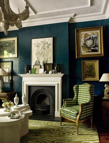 The Aestate: color trend: hunter green
