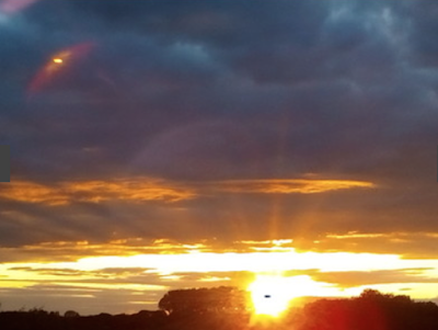 UFO Captured Above Norfolk 2015, UFO Sighting News