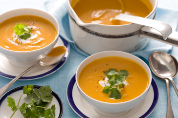 Moroccan Carrot And Coriander Soup Recipe