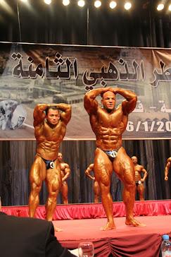 Mr Universe 7 Kali Sazali Abdul Samad ( Qatar Open Chempionship 2012 )