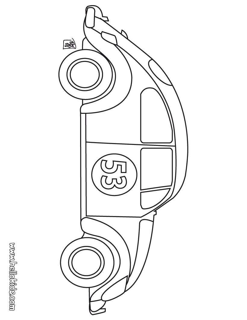 computer assignments  car coloring pages