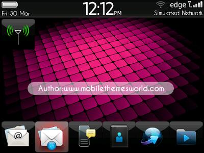 Free Download Tema Blackberry Keren Terbaru  OS 7 2012