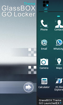GlassBox GO Locker Theme
