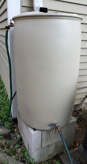 DIY Rain Barrel Overflow Spigot