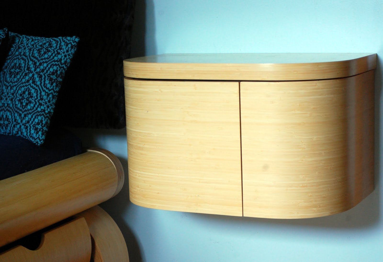 Wall Mounted Bedside Table