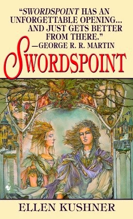 Book Cover of Swordspoint by Ellen Kushner (Riverside Book 1)