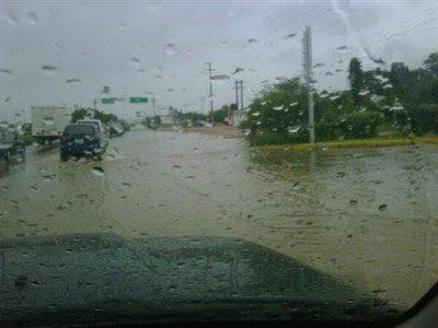 En gran parte del país se esperan precipitaciones, algunas acompañadas de actividad tormentosa