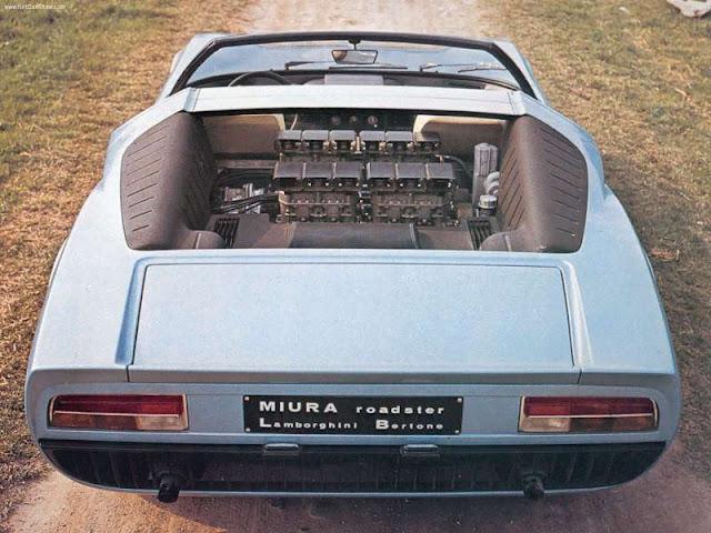 Lamborghini Miura Roadster (1968)