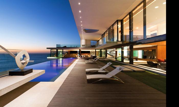 Casas minimalistas y modernas piscinas minimalistas for Piscinas minimalistas