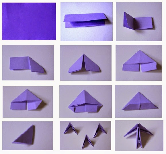 Origami Triangle Pieces Indesign Art And Craft