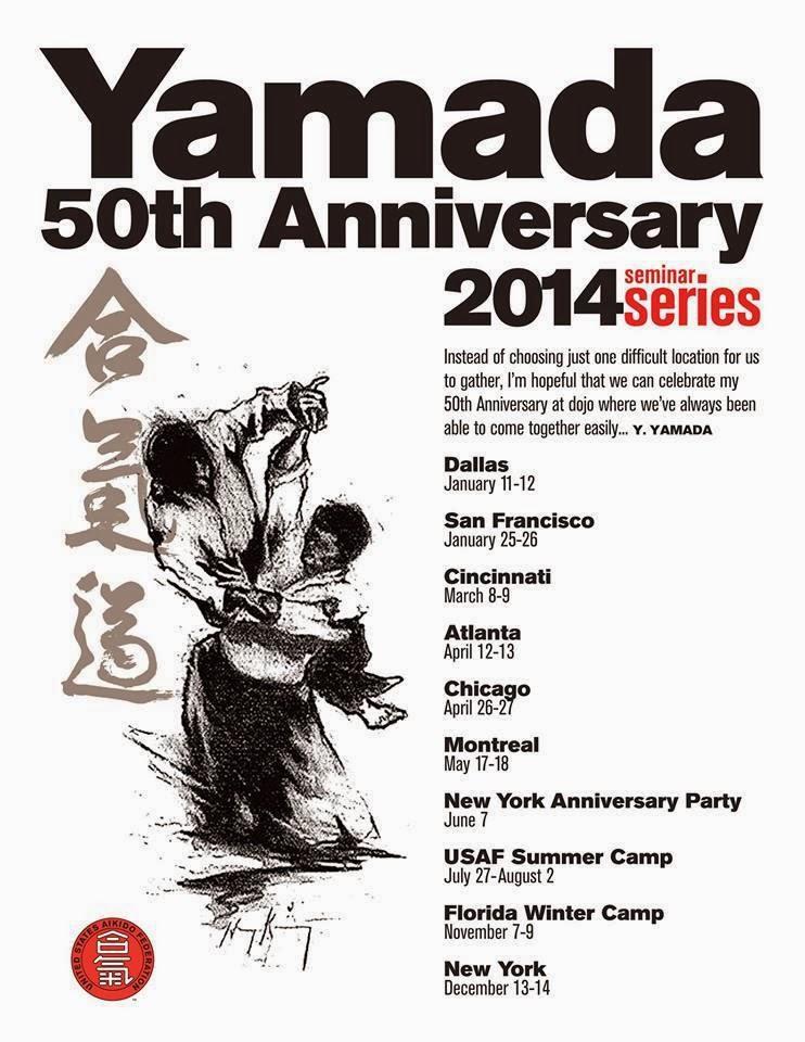 50 años de práctica de Yamada Sensei