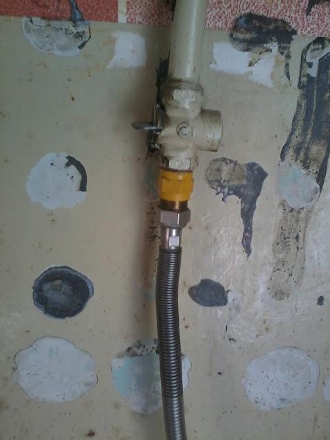 подводка для газовой плиты