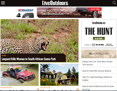 LiveOutdoors.com unveils new and improved website