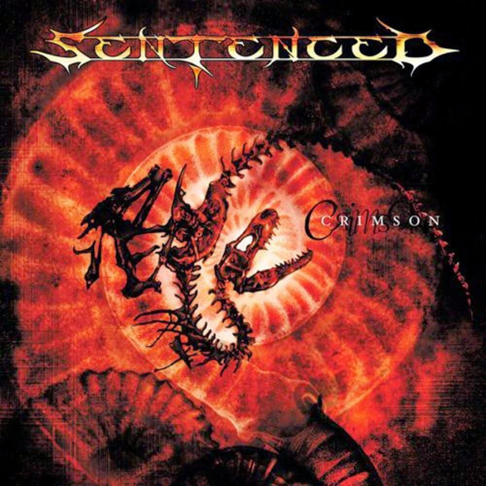 Portada de Sentenced-Crimson 2000