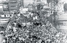 manifestacion asturias 1962 mineros