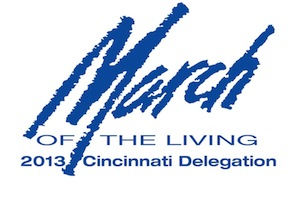 2013 March of the Living: Cincinnati Delegation