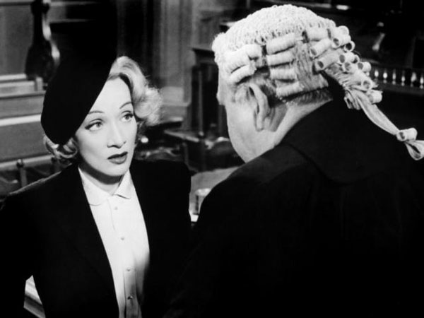 Marlene Dietrich in Witness for the Prosecution