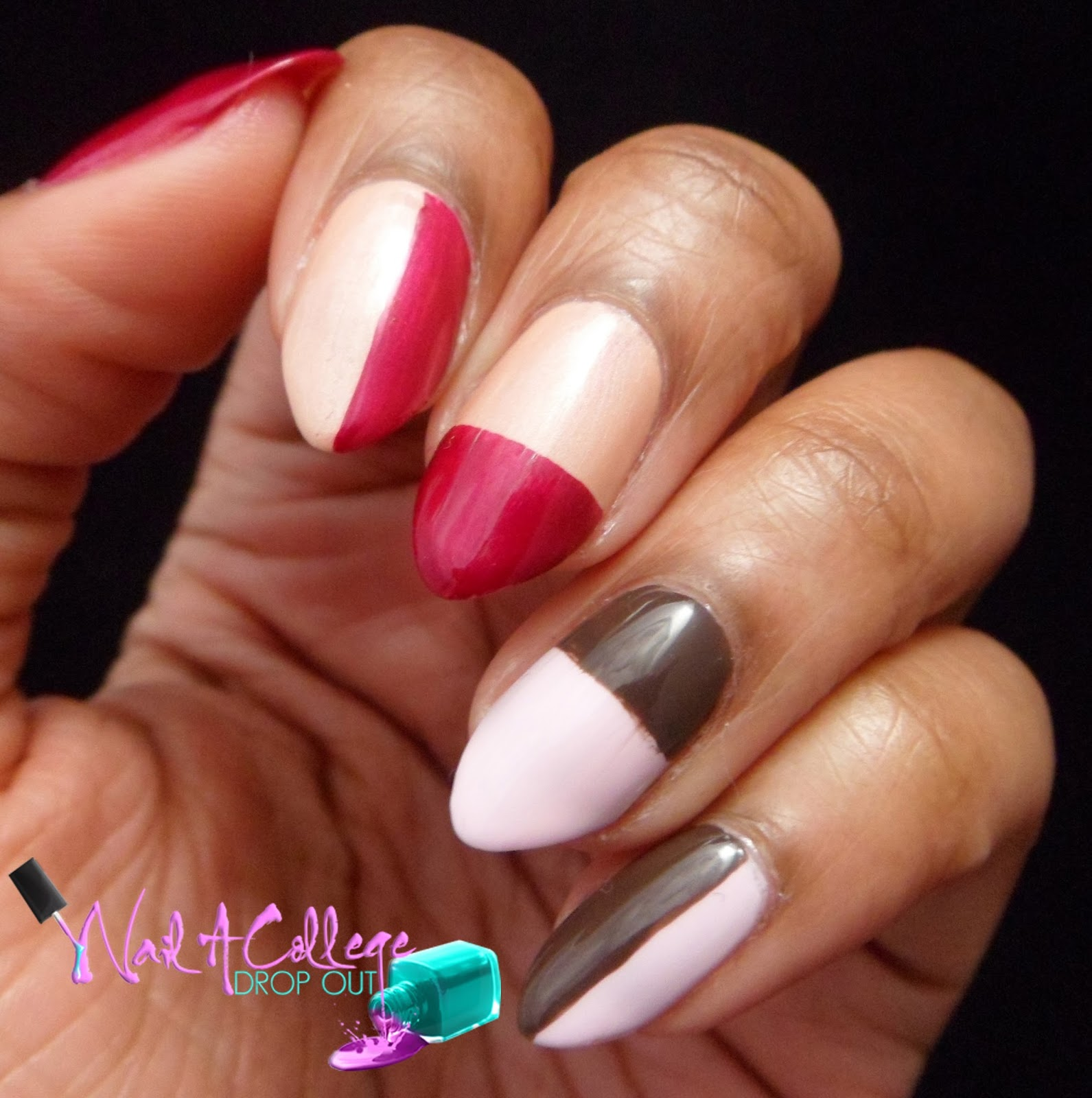 Nail A College Drop Out Lcn Sweet Serenity Nail Art