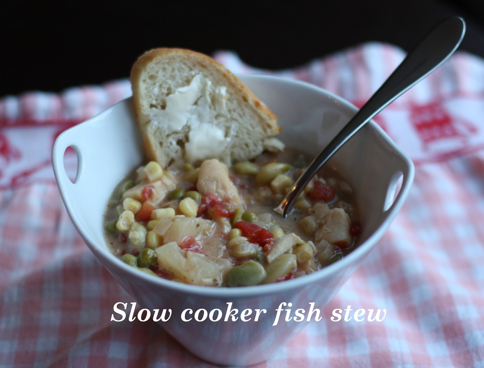 how to make fish stew in a slow cooker