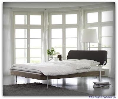 Кровать KANJO BED от фабрики Moeller Design (дизайн Moller-Ewerbeck Cord)