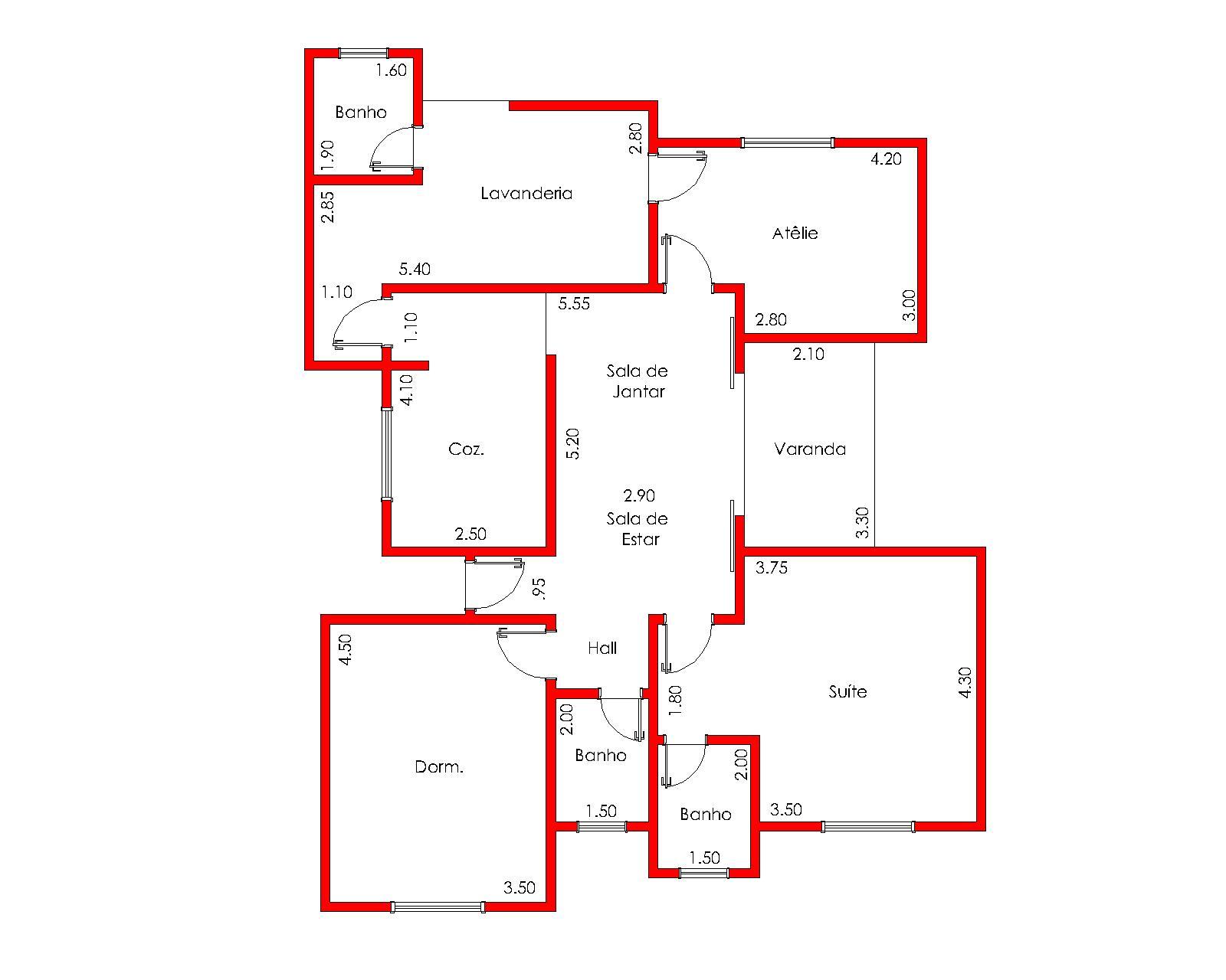Arquiteto Victor Chinaglia: A CASA MONDRIAN FUNCIONALISMO E  #C10A0A 1600 1280