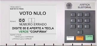 Eu voto NULO
