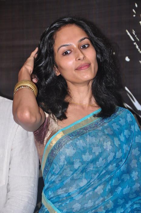 yasmin ponnappa aaranya kaandam press meet hot images