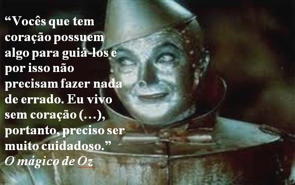 Alguém Falou E Disse O Mágico De Oz L Frank Baum