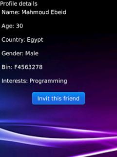 Share BBM PINs (full pro) v1.0 BlackBerry