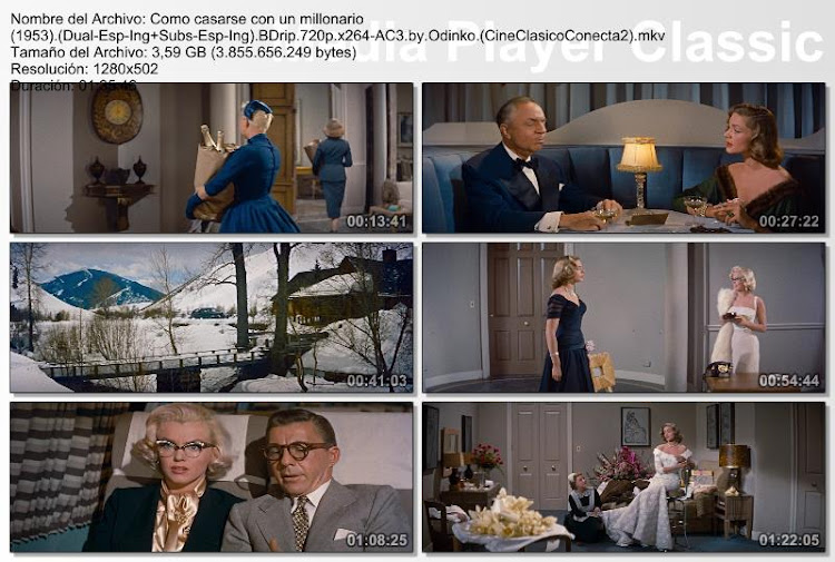 Cómo casarse con un millonario | 1953 | How to Marry a Millionaire