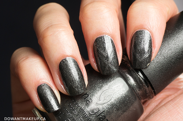 China Glaze Stone Cold nail polish swatch