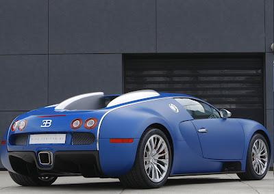 2009 Bugatti Veyron Bleu Centenaire