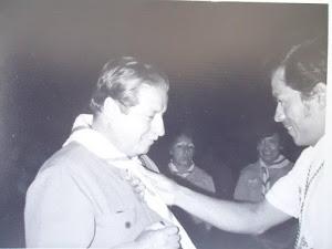 Primer Gobernador Scout, Toma la protesta, Felipe Velásquez S.