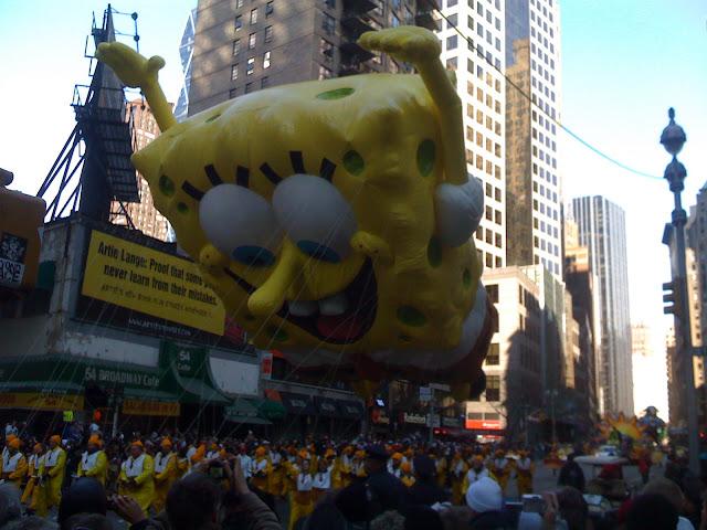 SpongeBob macy's parade