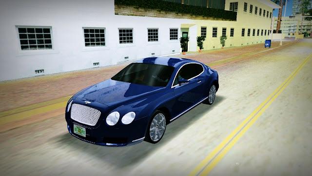 Bentley Continental GT - GTA Vice City