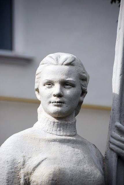 Парк советской скульптуры в Лысьве