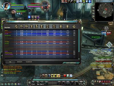 RIFT Online - Warfront Scoreboard