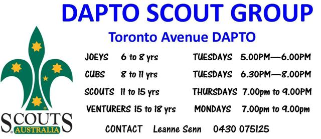 DAPTO SCOUT GROUP