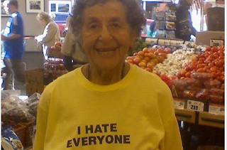 Funny picture: hating Grandma