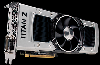 NVidia GeForce GTX Titan Z GPU