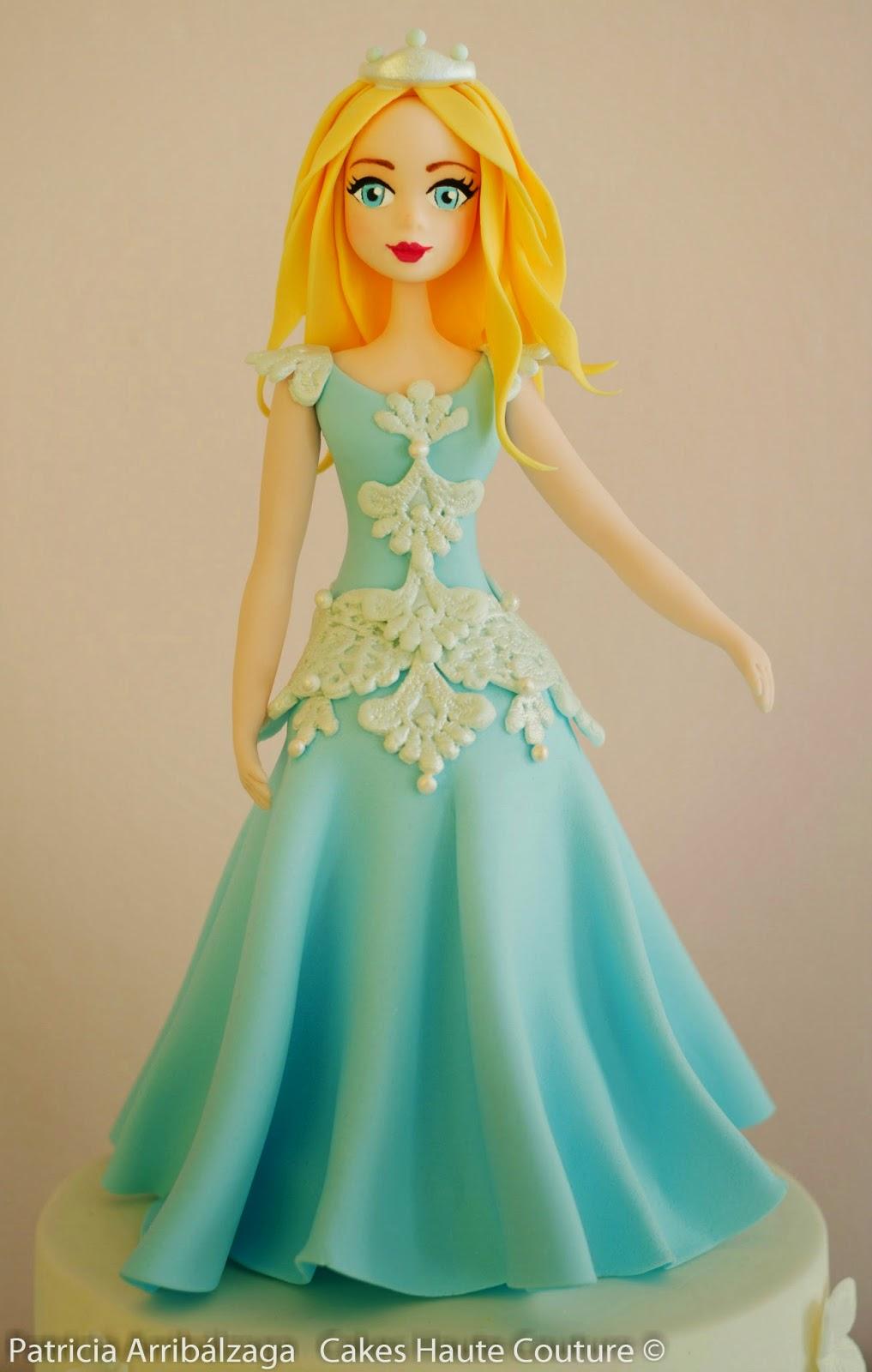 tarta princesa de azúcar