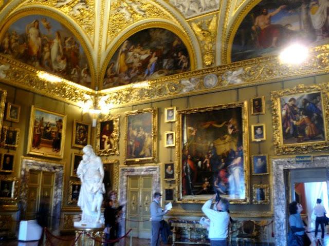 Palacio Pitti Florencia Interior