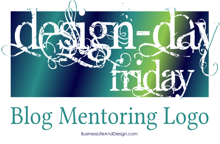 Blog Mentoring Logo - Design Day Friday