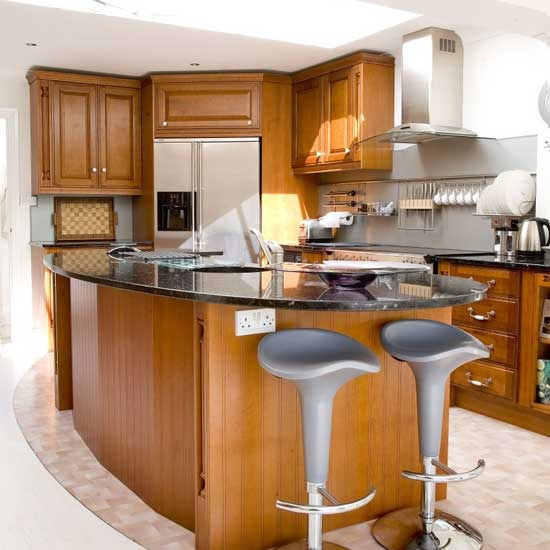 Modern kitchen home interior design - Cocinas de diseno moderno ...