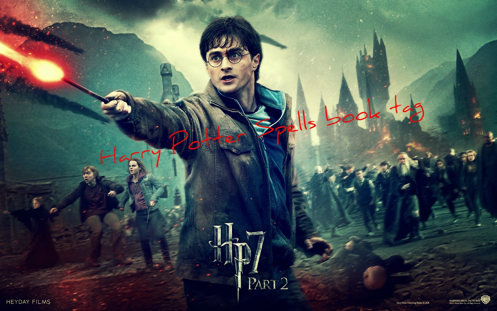 Harry Potter Spells BOOK TAG