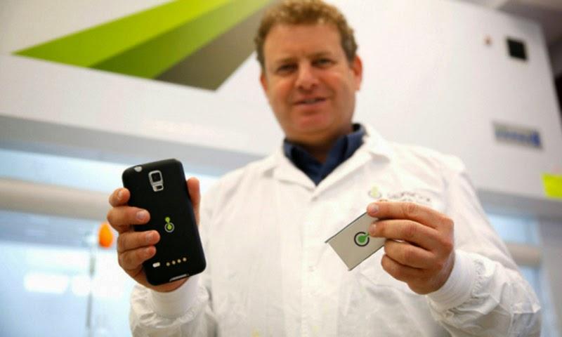 أخيرا بطارية جديدة للهواتف الذكية تشحن في دقيقة واحدة !