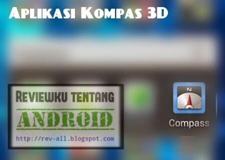 Ikon aplikasi COMPASS - Ketahui arah mata angin menggunakan kompas 3D di android (rev-all.blogspot.com)