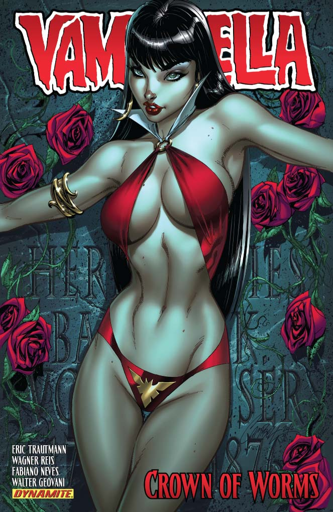Vampirella - Crown of Worms - Eric Trautman - Wagner Reis - Fabiano Neves - Walter Geovani