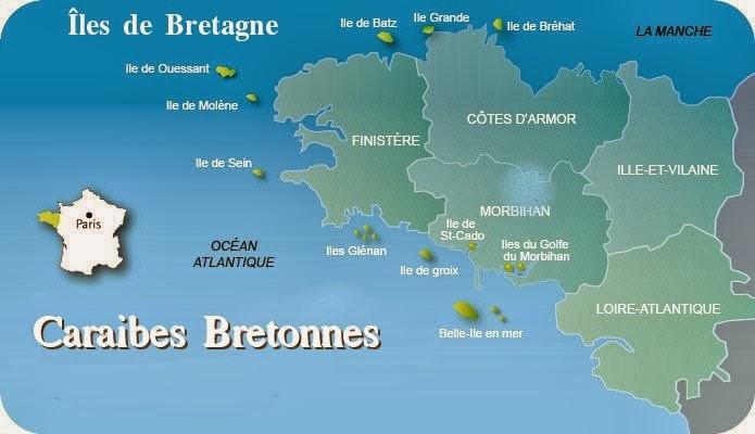 Location vacances iles bretonnes